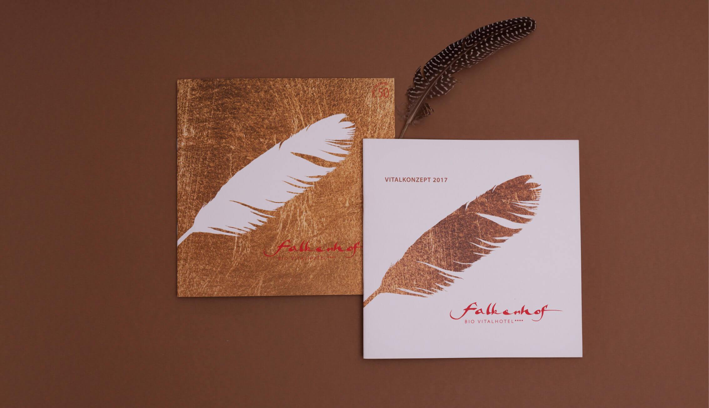 Falkenhof Bio Vitalhotel*** - Broschüren