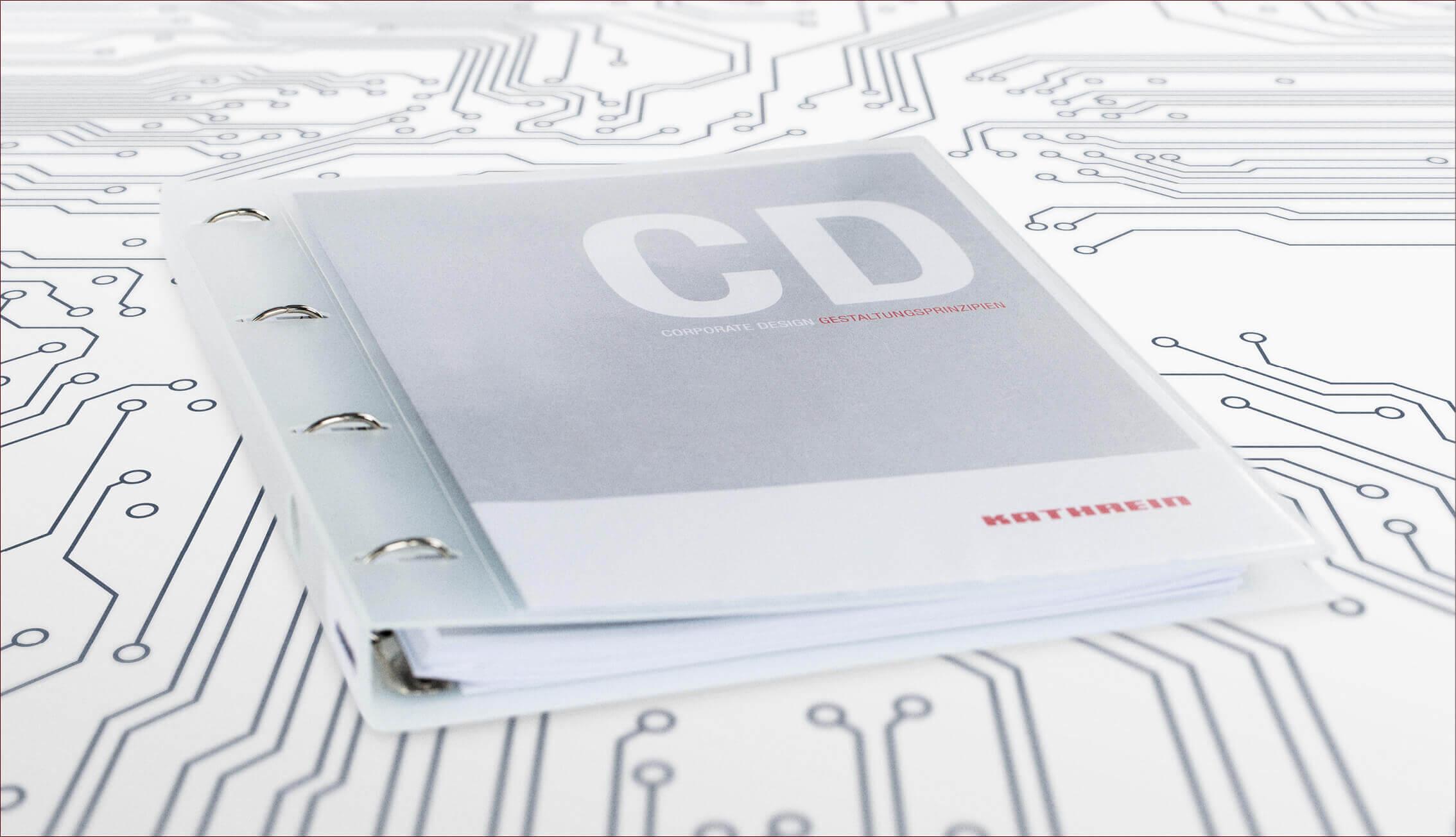 Kathrein - Corporate Design - Broschüre
