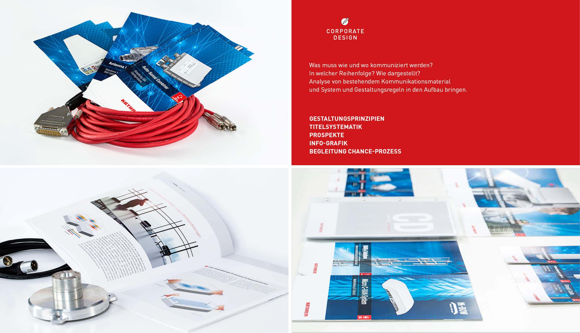 Kathrein - Corporate Design - Portfolio