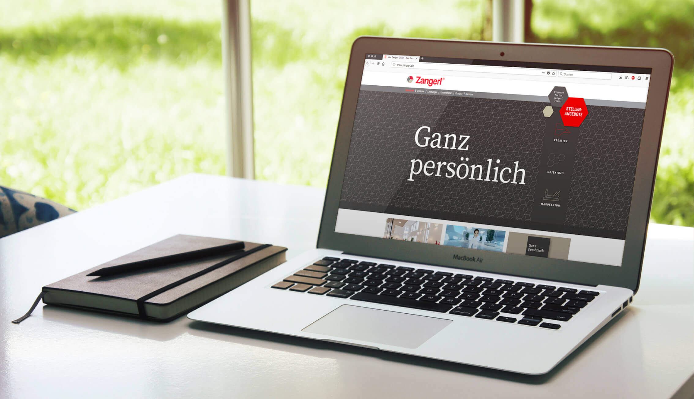 Zangerl - Webauftritt