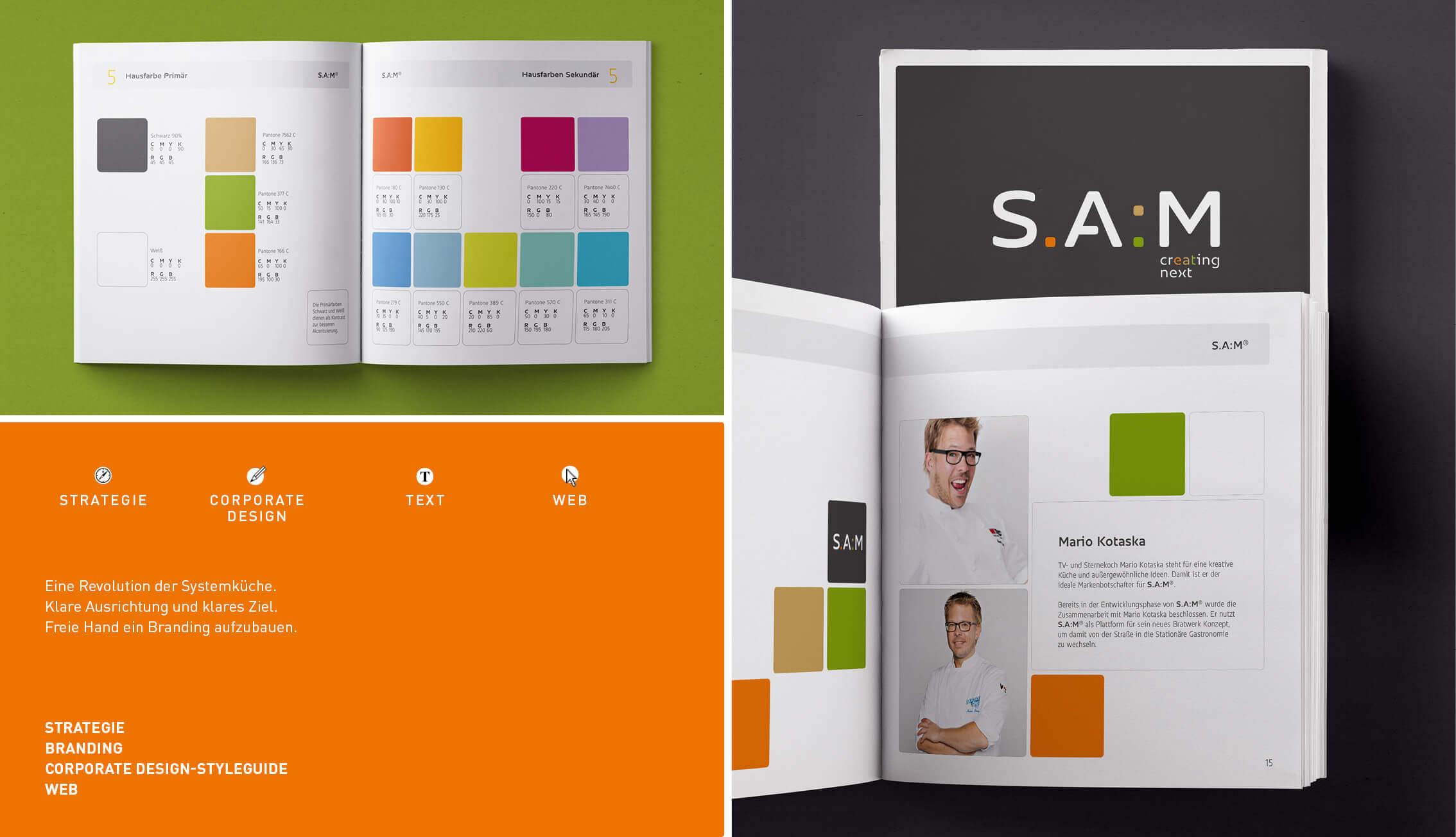 S.A.M. - Portfolio - Übersicht