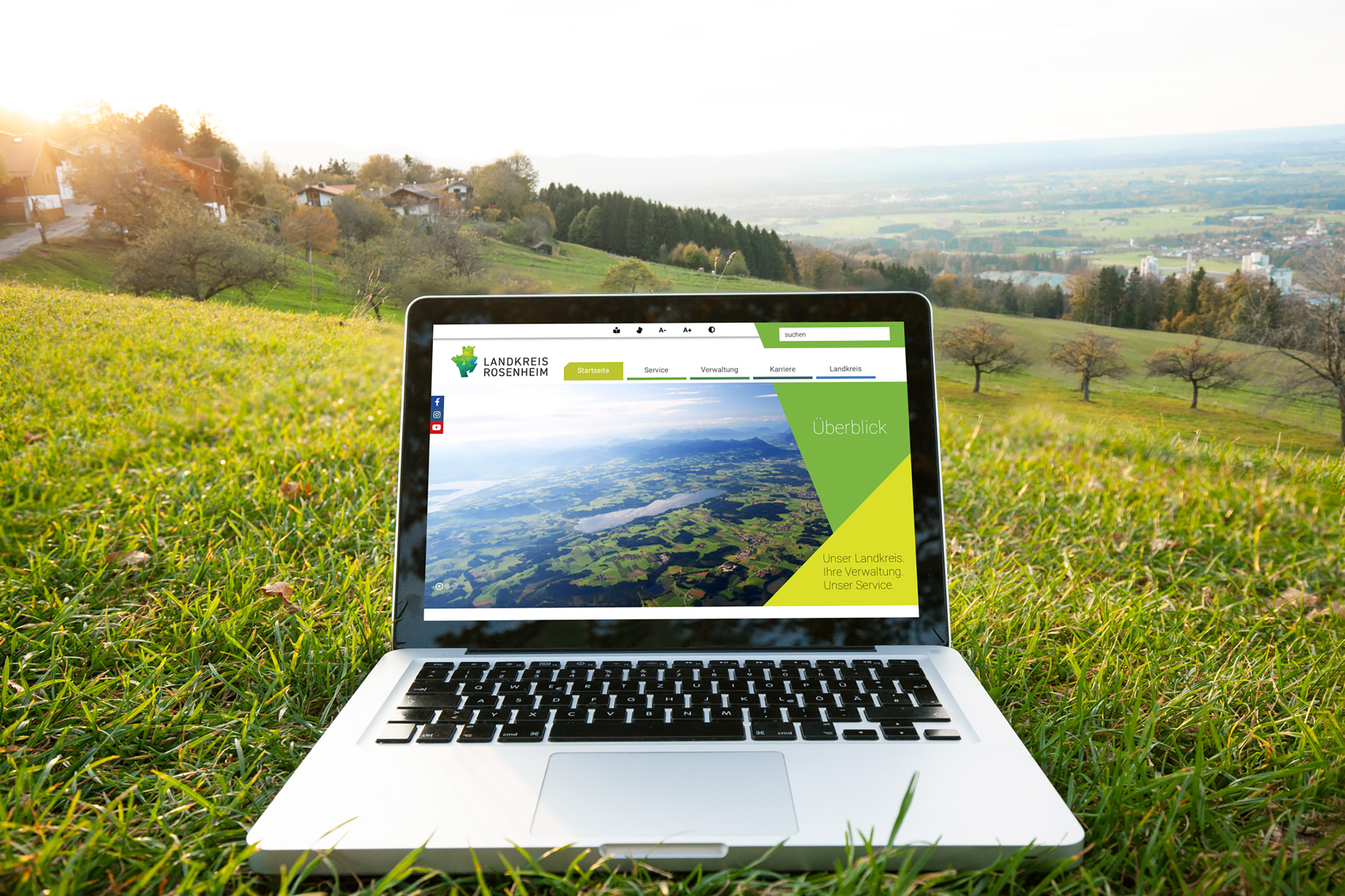Landratsamt Rosenheim - Web-Vorschau