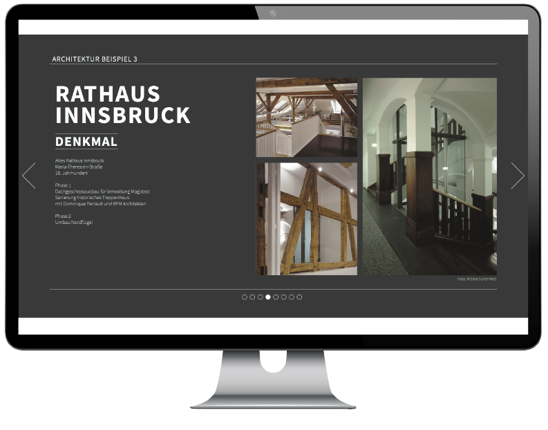 Degenhart Architektur - Rathaus Innsbruck